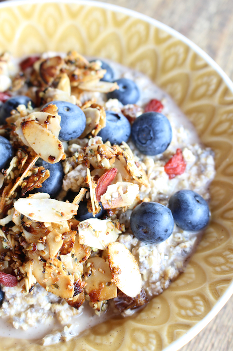Blueberry Breakfast Bowl