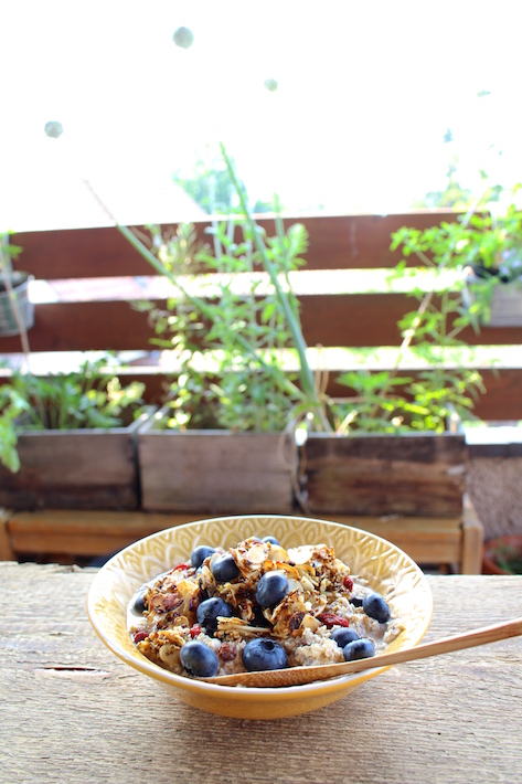 Blueberry Breakfast Bowl