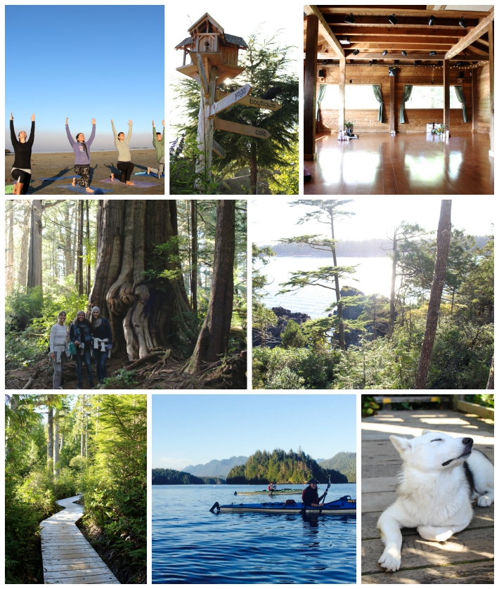 Yoga, Kayaking and Hot Springs