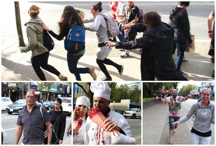 Zombie Walk Vancouver 2015