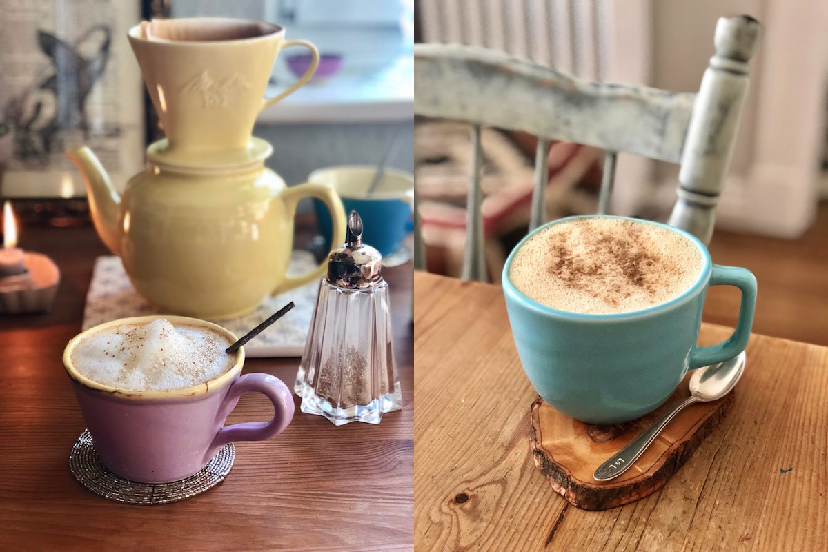 Cozy hot drinks