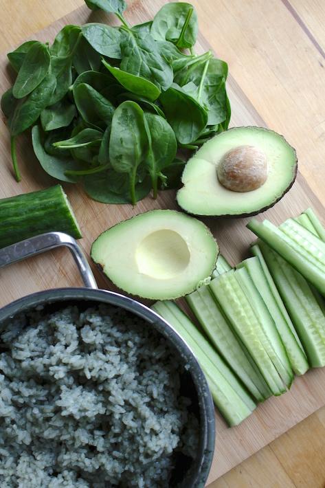 vegan sushi ingredients
