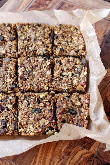 granola bars vegan