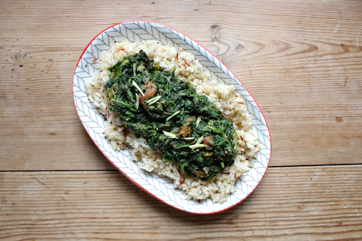 creamy spinach plantbased