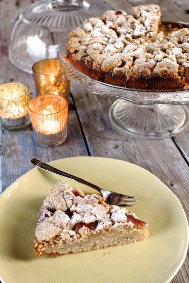 german apple cake vegan