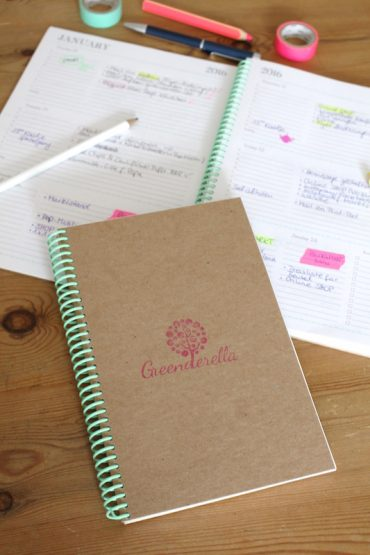 eco friendly planner