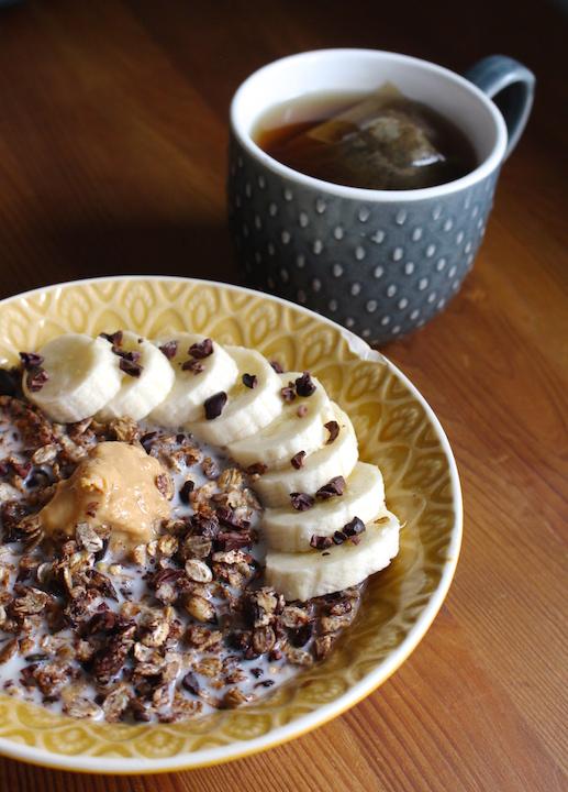 chocolate peanut butter muesli
