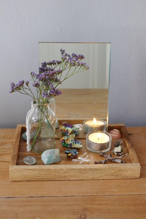 crystal altar
