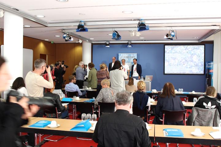 Press Conference Soda Stream