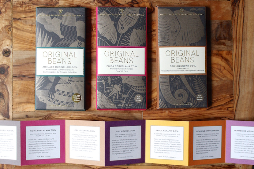 Original Beans chocolate storys