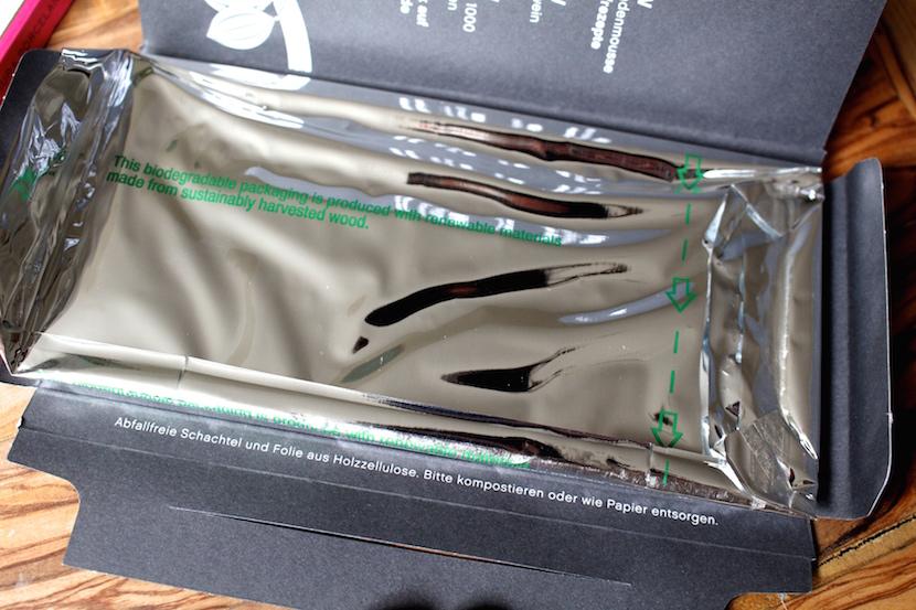 zero waste packaging chocolate