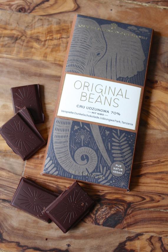 Cru Udzungwa 70% Organic Beans