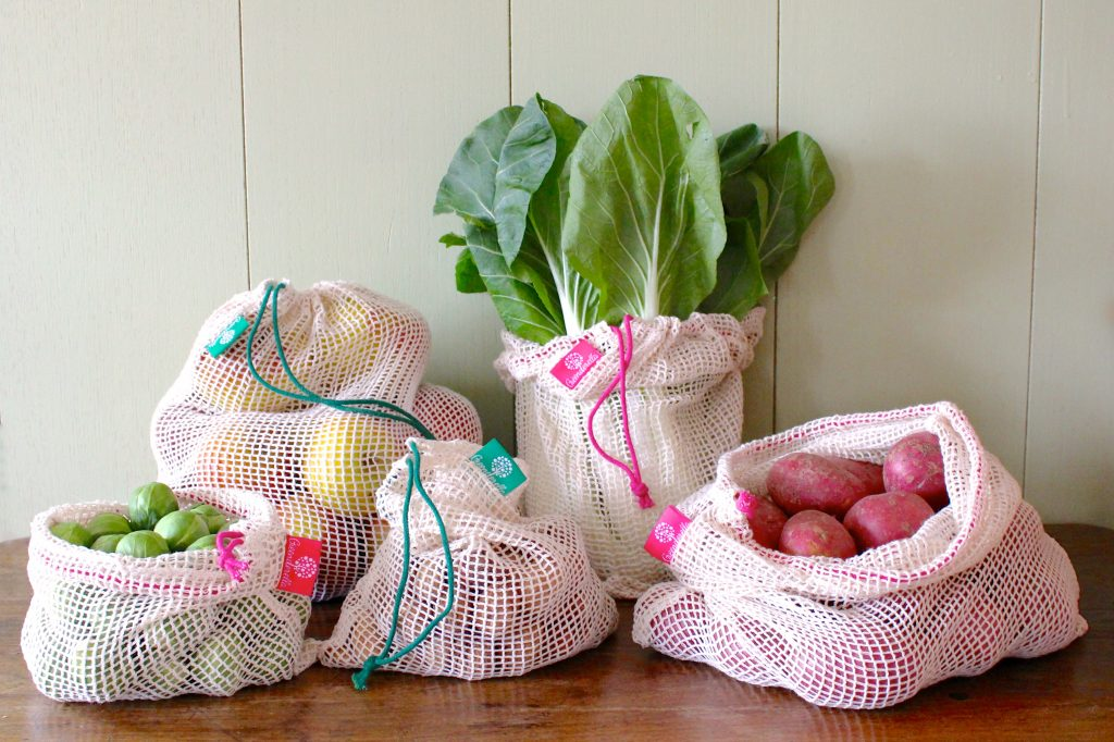 reusable produce bags from Greenderella