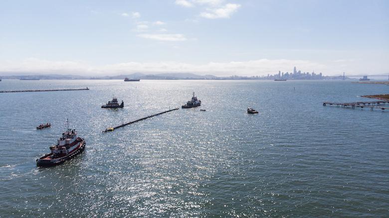 The Ocean Cleanup Launch