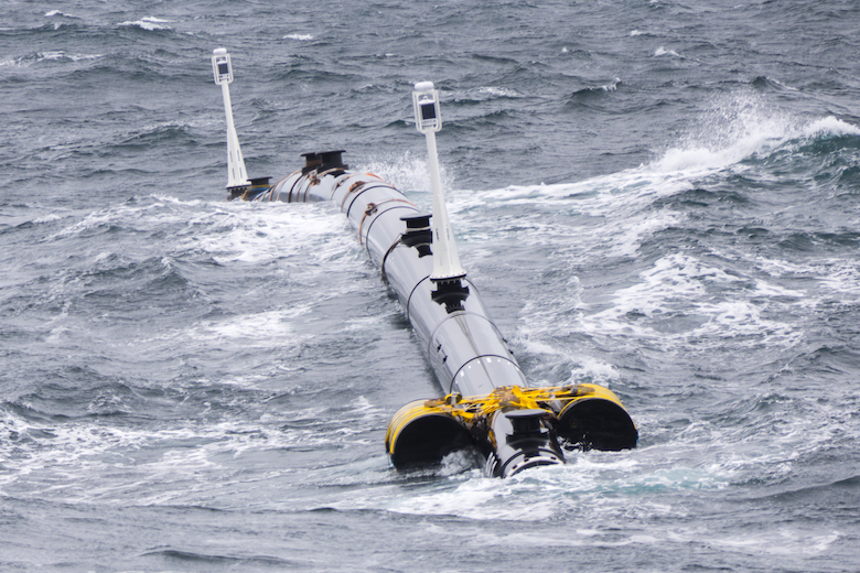 The Ocean Cleanup floater