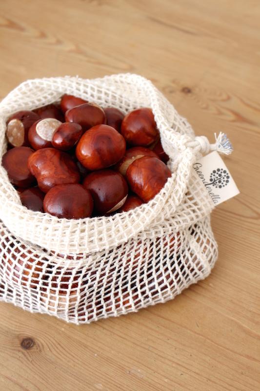 horse chestnuts zero waste