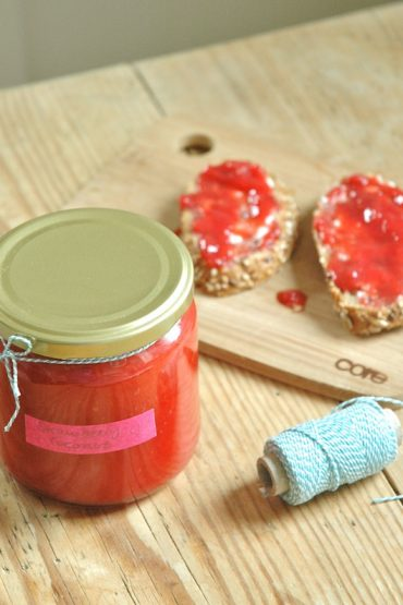 strawberry coconut jam